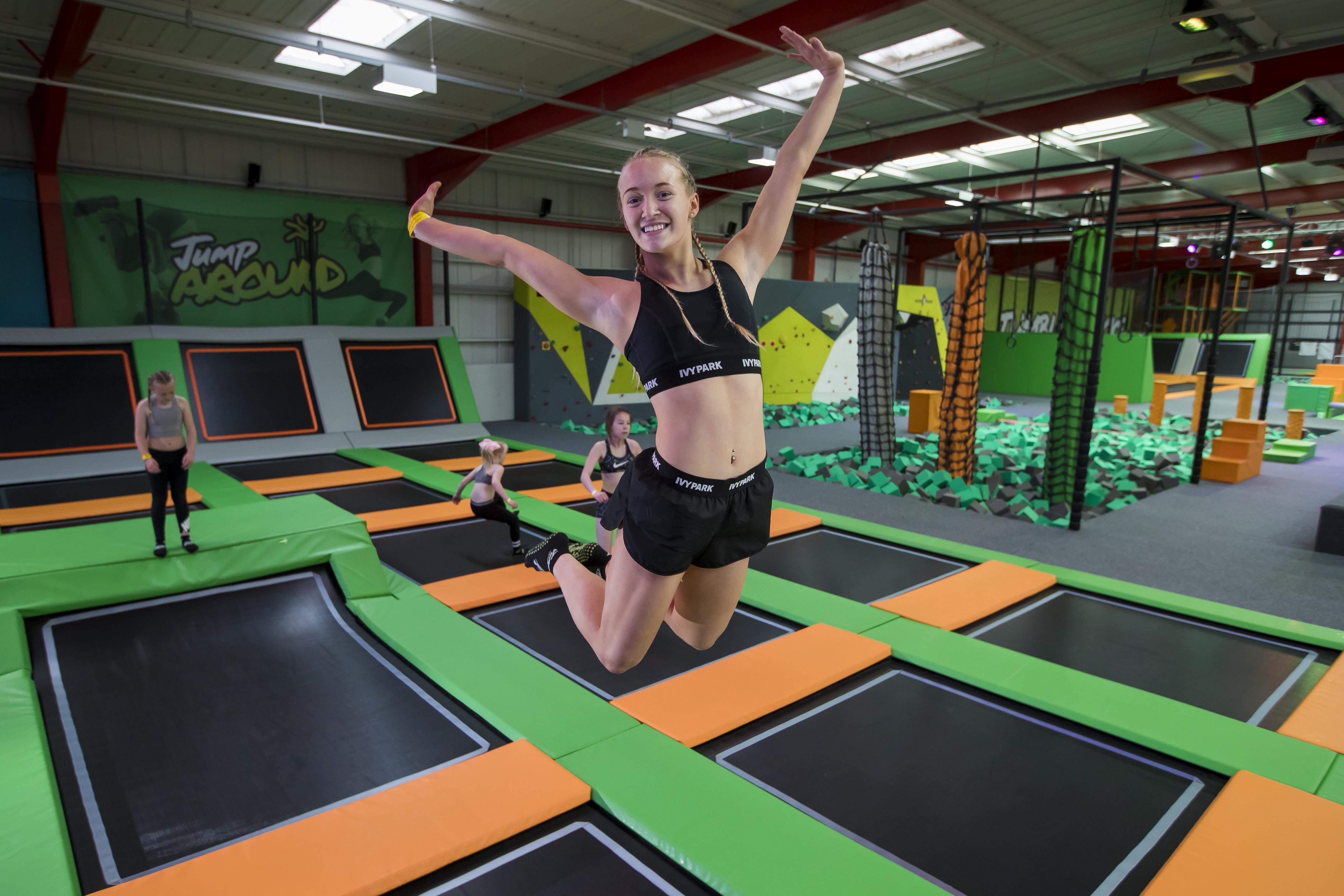 jump party jump360 trampoline park. Black Bedroom Furniture Sets. Home Design Ideas